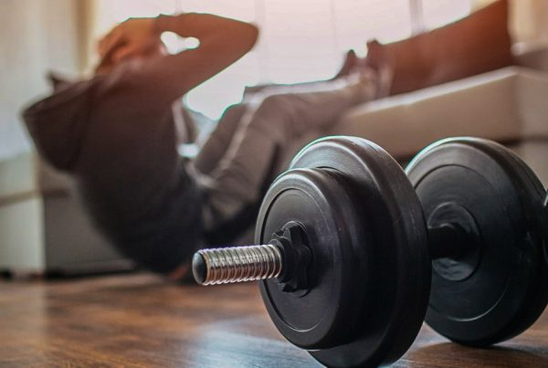 HIIT-Workout in home with equipment's